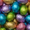Foiled Solid Milk Chocolate Easter Eggs