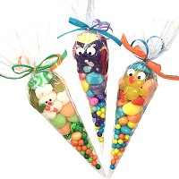 Easter Mini Candy Cones