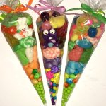 Easter candy cones
