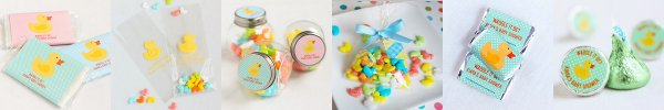 Baby Ducky Baby Shower Favors