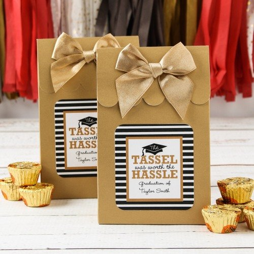 Graduation Party and Gift Guide - Personalized Graduation Party Goodie Bags