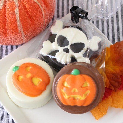 Halloween Party Favour Guide - Chocolate Covered Oreo Cookies