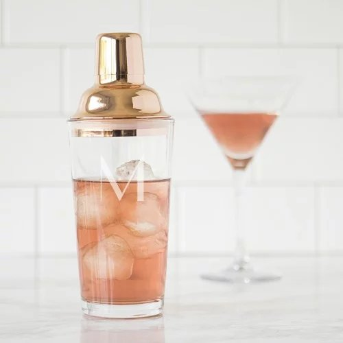 Mother's Day Gift Guide - Personalized Cocktail Shaker