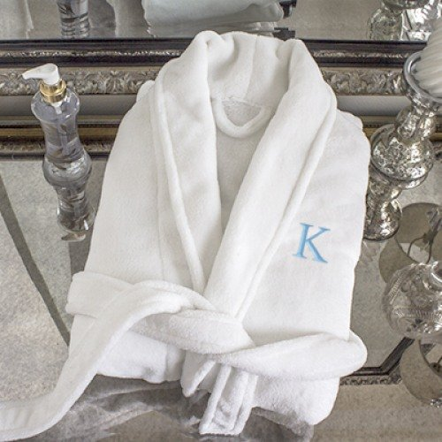Mother's Day Gift Guide - Personalized Plush Spa Robe