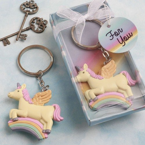 Unicorn Party Key Chain Favors