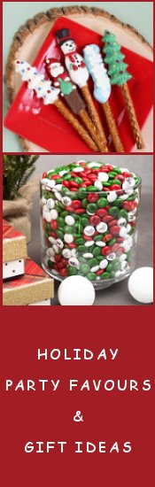 Christmas Holiday Personalized Candy, Chocolate, and Lollipops
