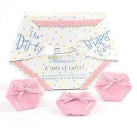 Baby Girl Shower Party Favours - Dirty Diaper Game