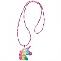 Unicorn Magical Party Supplies - Glitter Unicorn Dream Necklace