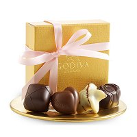 Baby Girl Shower Party Favours - Godiva Personalized Baby Shower Favours
