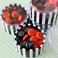 Halloween Party Favour Guide - Personalized Halloween Party Mint Chocolate Favours