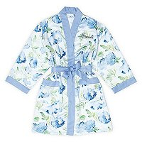 Mother's Day Gift Guide - Personalized Floral Silk Kimono Robe