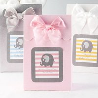 Baby Girl Shower Party Favours - Personalized Baby Shower Candy Bags