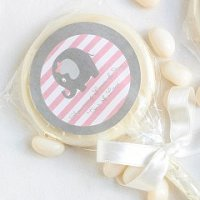 Baby Girl Shower Party Favours - Personalized Baby Shower Lollipop