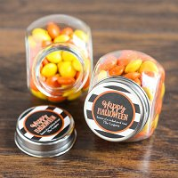 Halloween Party Favour Guide - Personalized Halloween Candy Jar
