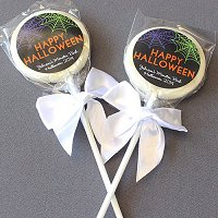 Halloween Party Favour Guide - Personalized Halloween Lollipops