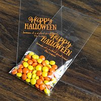 Halloween Party Favour Guide - Personalized Halloween Party Cello Bags