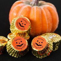 Halloween Party Favour Guide - Personalized Halloween Party Reese's Peanut Butter Cups