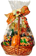 Halloween Fall Harvest Gift Basket