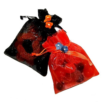 Halloween Organza Candy pouches
