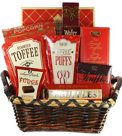 Christmas Gift Baskets - Delightful Gourmet Gift Box