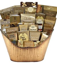 Christmas Gift Baskets - Deluxe and grand gourmet