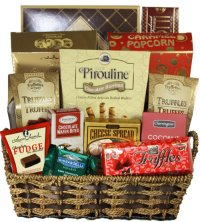 Christmas Gift Baskets - Treats for Everyone