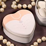 Wedding Gown Candy Tins
